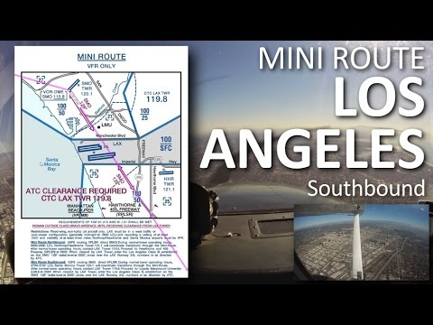 LA Mini Route Southbound w/ live ATC fully SUBTITLED (Farwest