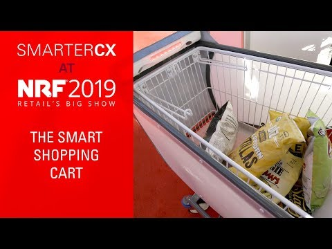The Smart Shopping Cart from Caper | SmarterCX at NRF 2019