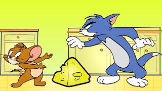 ОБМАНУЛИ ТОМА мышонок ДЖЕРРИ Ворует СЫР из Холодильника МУЛЬТИК для детей Tom and Jerry