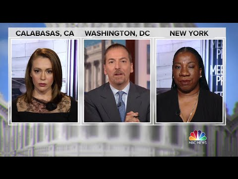 Alyssa Milano and Tarana Burke: 'People do not often lie' about sexual misconduct  Meet The Press