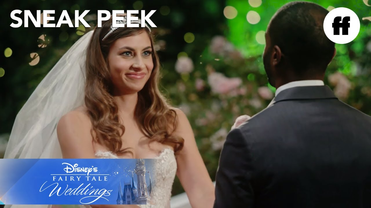 disney�s fairy tale weddings holiday magic first look