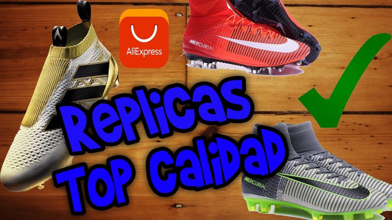 01ebdd7551842 Tutorial comprar Réplicas de Botas de Fútbol a un excelente precio 2017 en  español