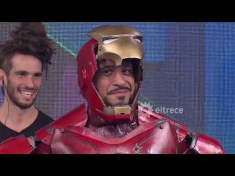 ¡Increible! En una de las puertas apareció Ironman
