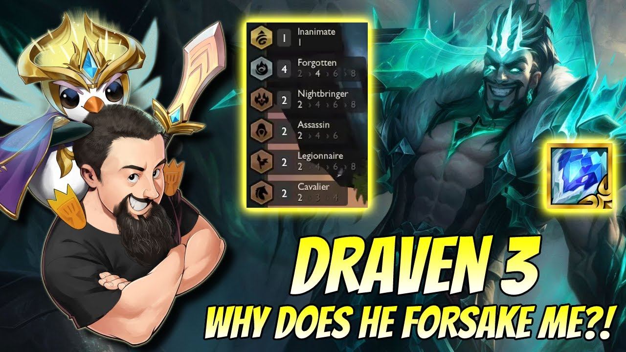 Download Draven 3 - Why does he forsake me?!   TFT Reckoning   Teamfight Tactics