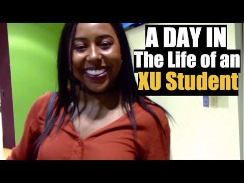 A Day In The Life of a Xavier University Student | VLOG
