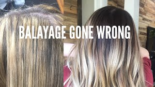 Balayage Gone Wrong - Color Correction || Hair Tutorial