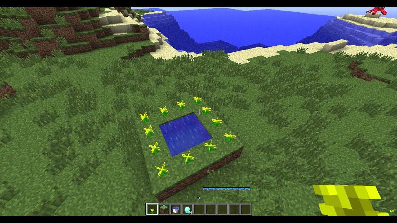 Майнкрафт как сделать портал лес