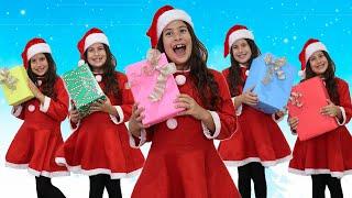 Música Cinco Ajudantes do Papai Noel | Chanson Cinq singes | Comptines Et Chansons | À Bébé Chanson