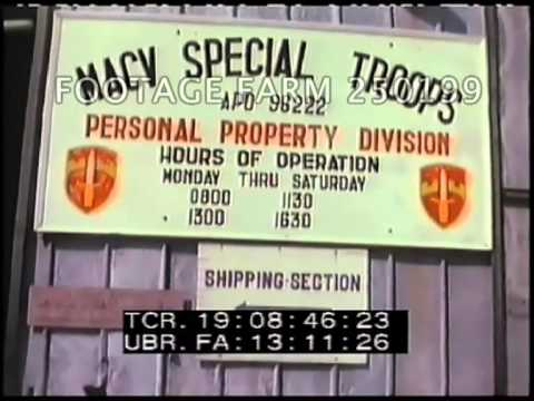 Vietnam War: USAF Airmen Being Processed; Aerial Bombing 250199-04 | Footage Farm