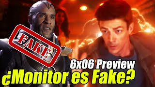 Wells Desenmascara al Monitor - The Flash 6x06 Preview