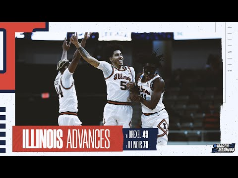 Illinois vs. Drexel - First Round NCAA tournament extended highlights