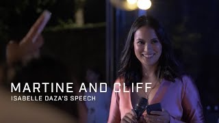 Martine and Cliff: Isabelle Daza