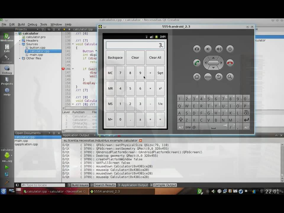 Qt on Android - getting started - YouTube