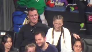 Çağla Büyükakçay - Maria Sharapova maçı tribünde tanıdık yüzler.. Kerem Bursin - Serenay Sarıkaya Video