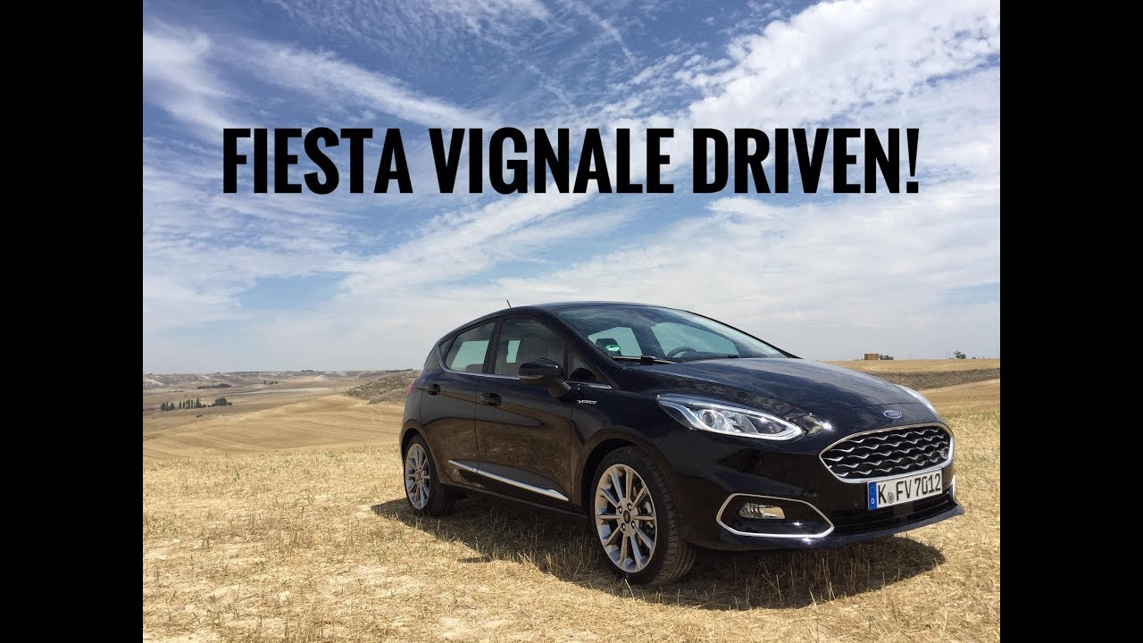2018 Ford Fiesta Vignale Quick Review Youtube