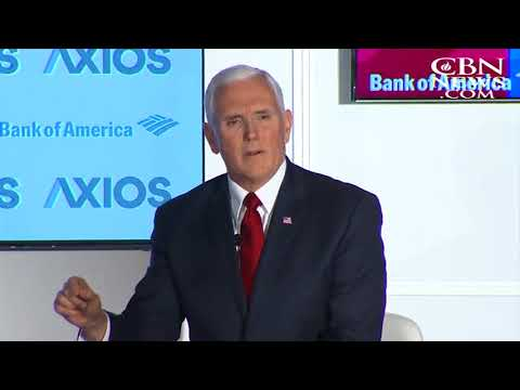 CBN News   Vice President Mike Pence responds to The1