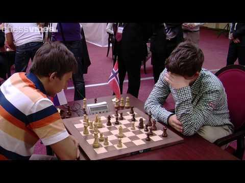 Karjakin-Carlsen, World Blitz Championship 2012