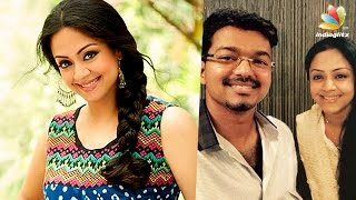 after 14 years jyothika to pair with vijay in his 61st film? hot tamil cinema news atlee