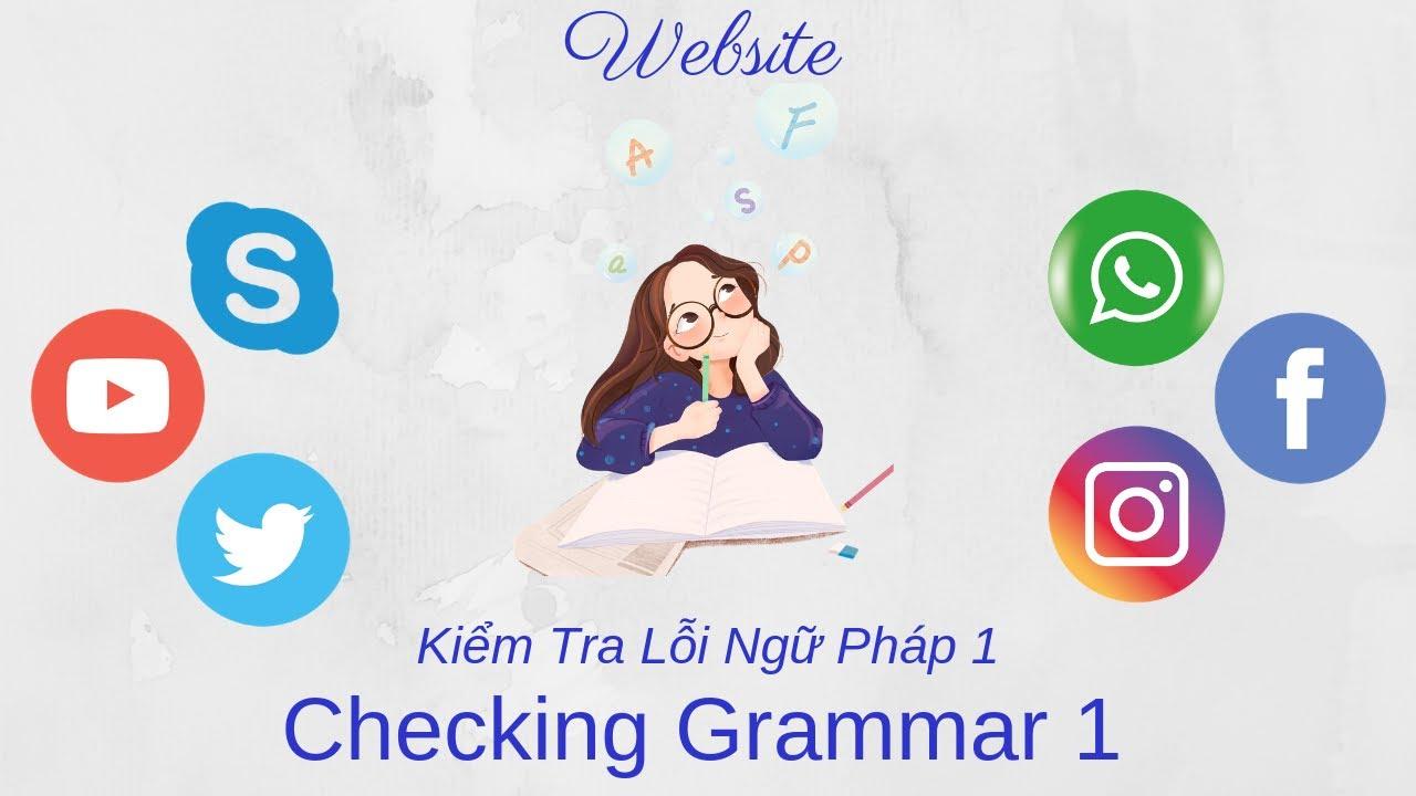 Website Kiểm Tra Ngữ Pháp Tiếng Anh (Grammar Checking Website)