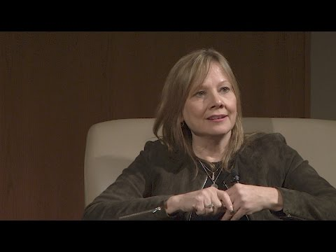 General Motors CEO Mary Barra discusses the Importance of Speed
