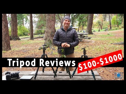 Tripods REVIEWED Bonfoto $100,  MeFoto $300 and Gitzo $1000!
