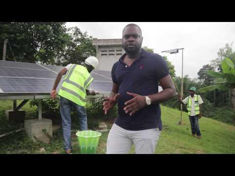 Présentation d'une installation solaire photovoltaïque à usage domestique au Gabon