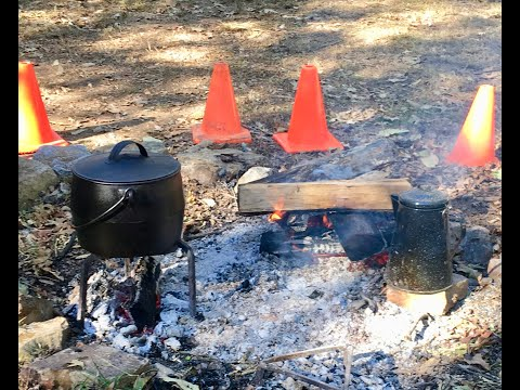 Campfire Cooking At Burritt On The Mountain Museum
