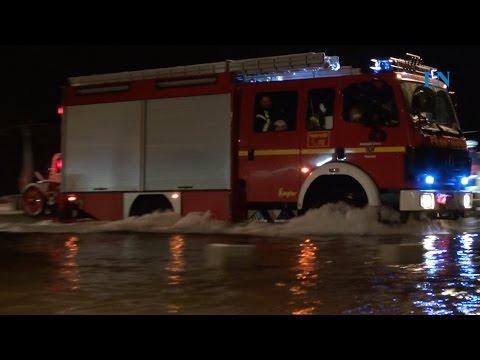 Sturmflut: Land unter in Lübeck und Travemünde