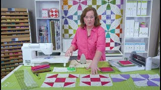 "Learn how to make the GO Qube 8"" Happy Village Quilt"