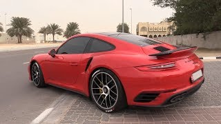 735HP Porsche 991 Turbo S PP Performance - Fast Accelerations, Onboard & Revs!