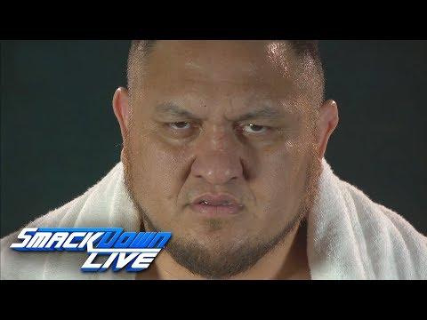 Samoa Joe promises victory at the Greatest Royal Rumble & Backlash: SmackDown LIVE, April 24, 2018
