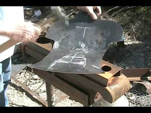 Hobby Art Welding Cheap Ep5 Cold Hammering Sheet Youtube