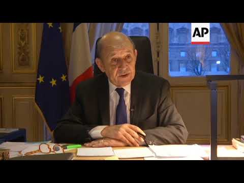 France FM reacts to Burkina Faso attack