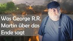 Die 3 Dinge, die George R.R. Martin über das Ende von Game of Thrones verraten hat [GoT]