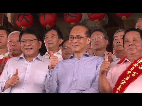 2017年7月22日林揆:結合在地文化與產業 促進東港觀光發展(行政院長林全視察鹽埔漁港)