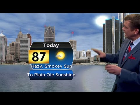 Metro Detroit weather brief, 7/9/2019, noon update