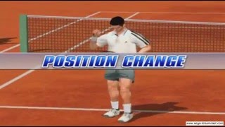 Virtua Tennis 2 Gameplay (Dreamcast)