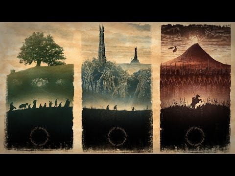 The Lord of The Ring Trilogy ~ Death and Beyond ~ Lesson of Life from Cinematic Universe