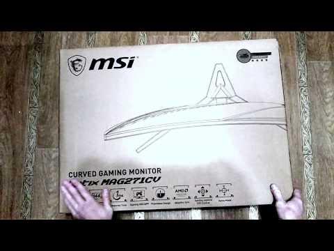 """Монитор 27"""" MSI Optix MAG271CV"""