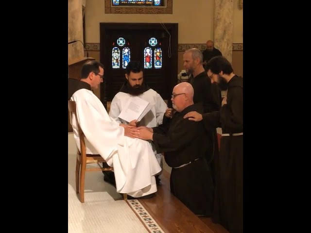 Perpetual Profession of Vows by Br. Paul Fesefeldt, O.F.M. Cap.