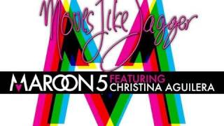 Check out the new single from Maroon 5, featuring Christina Aguiler...