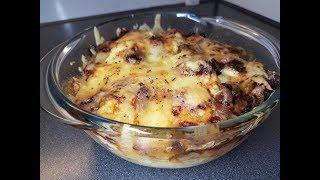 Печень, тушеная с картофелем и сыром. 100% РЕЦЕПТ!!!!!