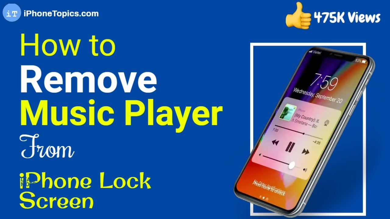 music player for iphone how to remove player from the lock screen on iphone 15724