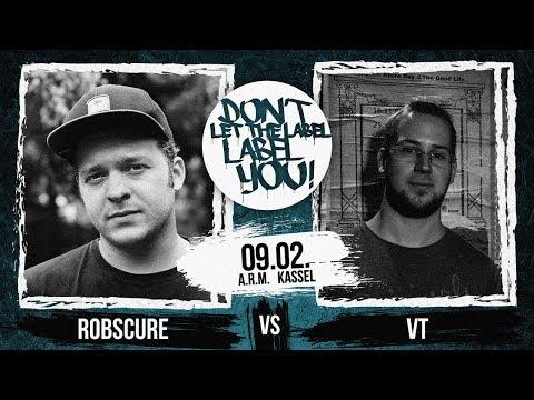 Robscure Vs VT // DLTLLY RapBattle (Kassel) // 2019
