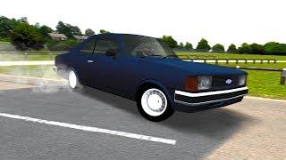 Acelerando um Opala 4.1 Azul Turbo!
