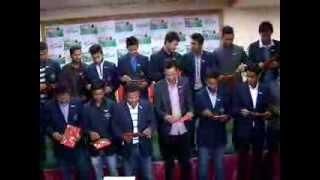 Pustak Bimochan nepali Cricket team February 27 News24 Nepal