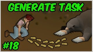 The Giant Mole Chase - GenerateTask #18