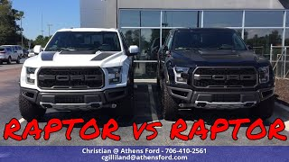 Watch the battle of beasts! take a look at 2018 raptor's going head to for everyone's favor! which ford f150 raptor is your favorite? do you lik...