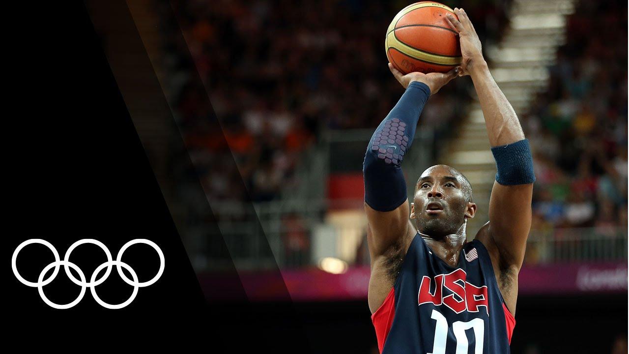 ed5a0e13f720 Kobe Bryant s best Olympic Basketball highlights - YouTube