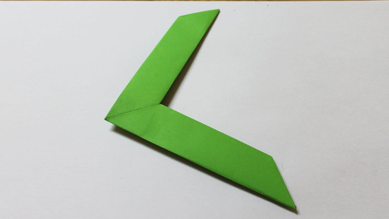 bumerang aus papier my blog
